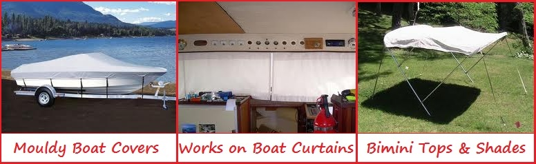 Boat Mould Remover curtains covers biminis
