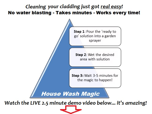 house wash cleaning product