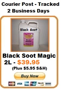 black soot cleaner 2l auckland